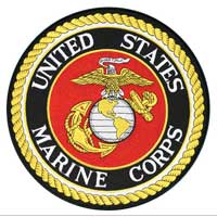 Patch, Xtra Size: Marine Corps Insignia