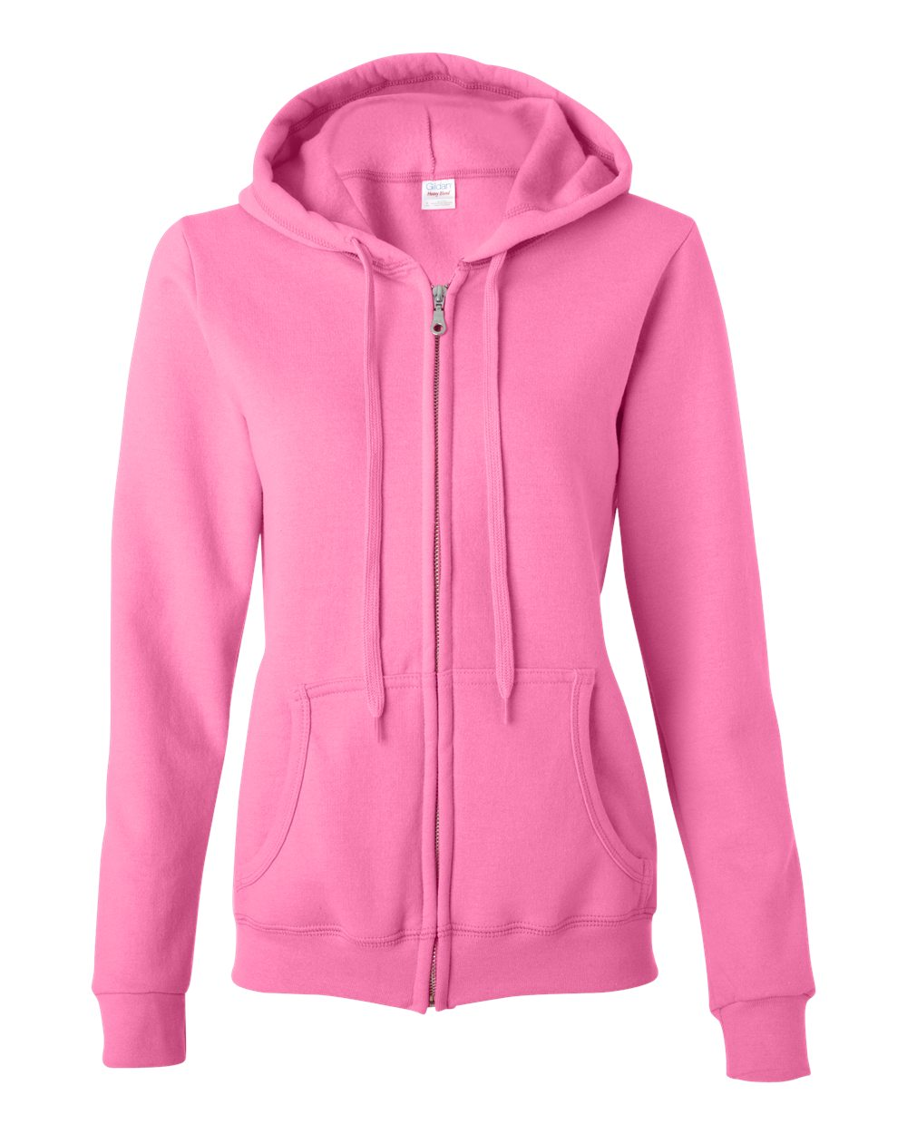 _Full-Zip Ladies' Hoodie (Pink Only): You Choose Design