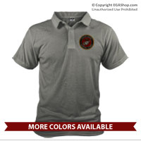 _Polo: Marine Corps Seal (Unisex)