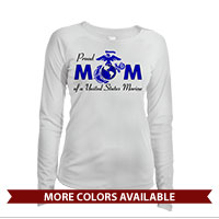 _Long Sleeve Solar Shirt (Ladies): Proud Mom-EGA