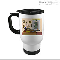 Travel Mug: SemperToons - Break Glass