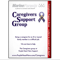 Outreach Rackcard: Caregivers Support Group