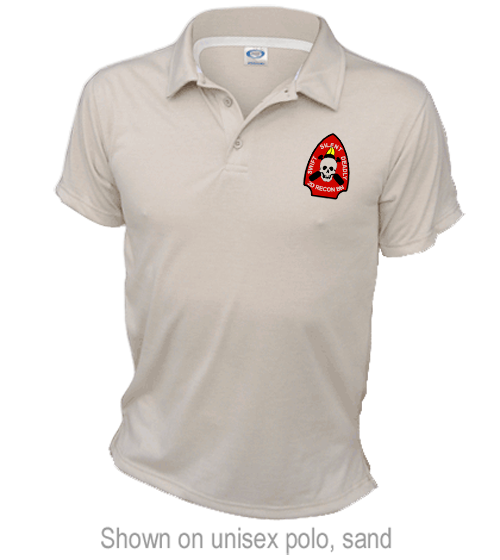 _Polo: 2nd Recon Marines (Unisex)