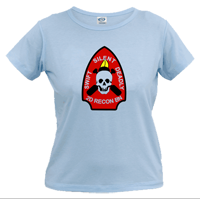 _T-Shirt (Ladies): 2nd Recon Marines
