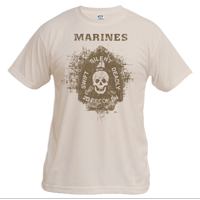 X Vintage T-shirt (Unisex): 2nd Recon Marines