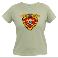 _T-Shirt (Ladies): 3rd Recon Marines