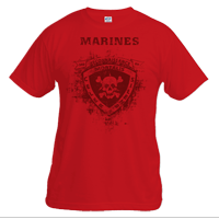 __Vintage T-shirt (Unisex): 3rd Recon Marines
