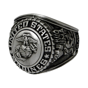 Marine Corps Insignia Ring
