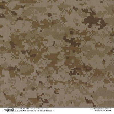 Paper Desert Camo 1 12x12