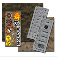 _Kit, Scrapbook: Official Marine Corps (12 pages, 40 stickers)