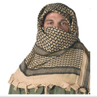 Scarf: Shemagh Tactical Desert (Tan)