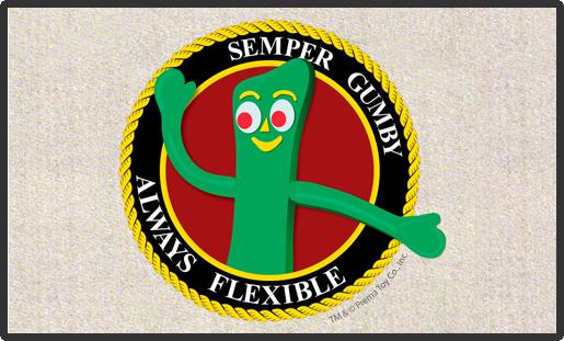 Doormat Semper Gumby 18x24