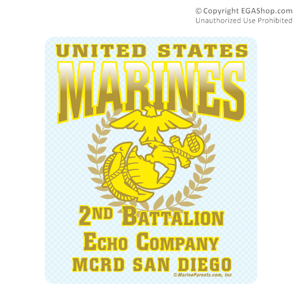 Marines 3D LAR Sticker CLEAR Wolf Pack Military Artists Navy, Military