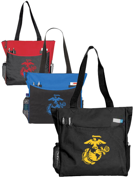 Totebag with Marine Corps Eagle, Globe and Anchor