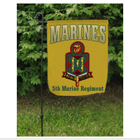 Garden Flag: 5th Marine Regiment