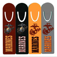 Bookmark: Solid Color Marines