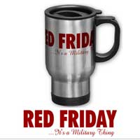 Travel Mug: Red Friday