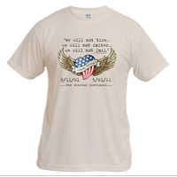_T-Shirt (Unisex): 5/01/11 Liberty Forever, Mission Continues (Short Sleeve)