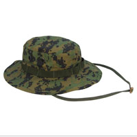 Boonie Hat: Digital Camo (woodland)